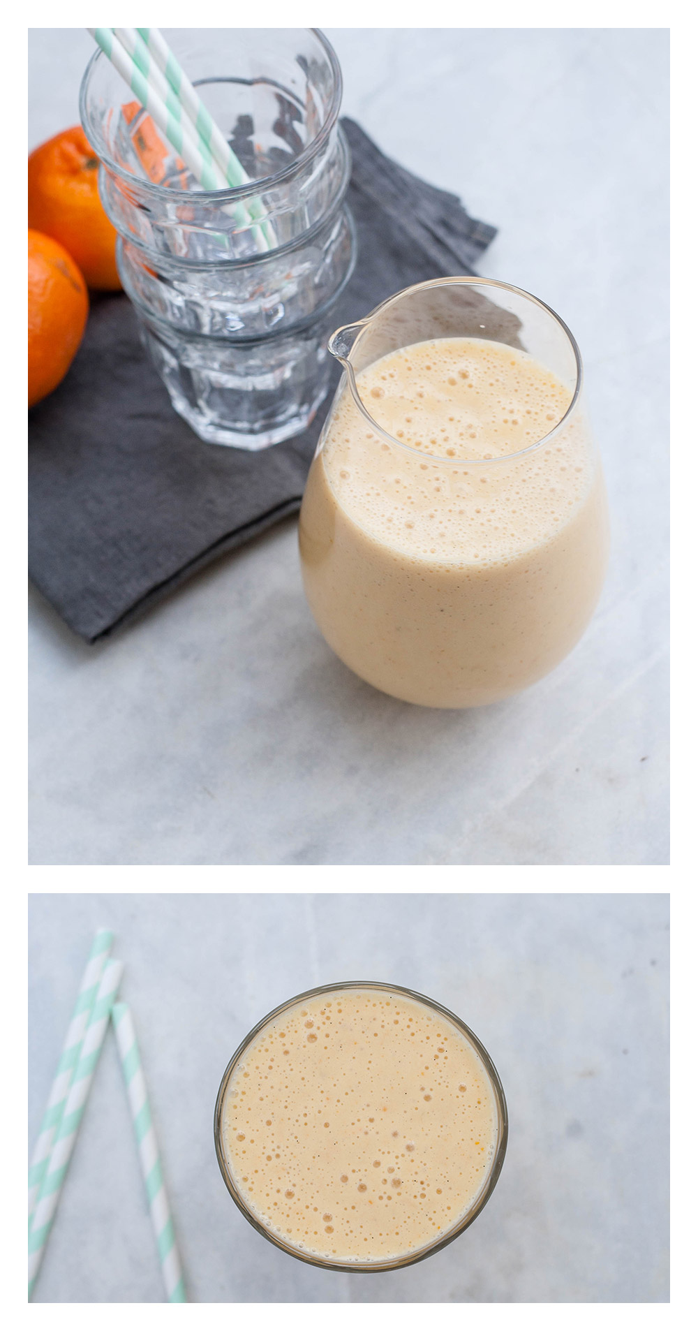 Mandarinen Vanille Smoothie