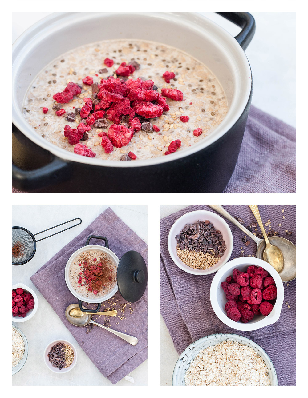 Mocca Latte Overnight Oats
