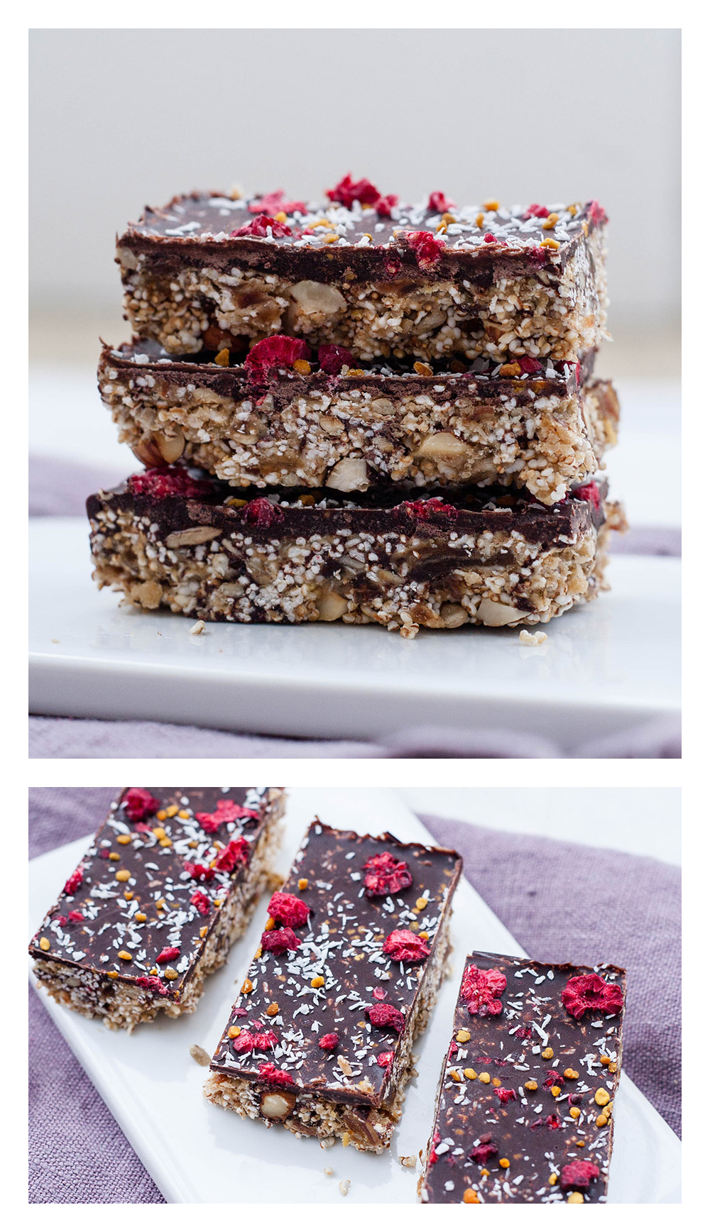 Amaranth Power Bars